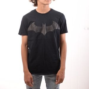 Batman T-Shirt with Logo in leather.